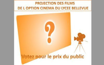 PROJECTION des Films de l'option cinéma